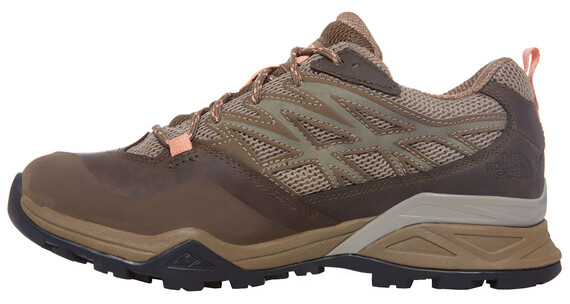 The North Face Hedgehog Hike GTX Shoes Women cub brown/punch orange